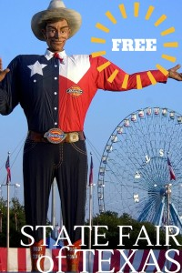 FREE Things to do with Kids at the State Fair of Texas