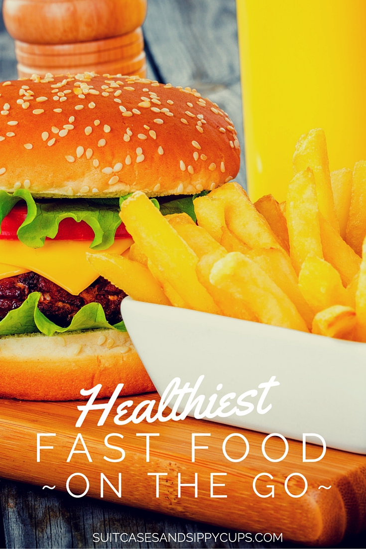 Healthiest Fast Food Options for Road Trips and Travel