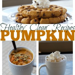 Healthy Pumpkin Recipes for Fall~Waffles, Hot Chocolate, and Curry Soup
