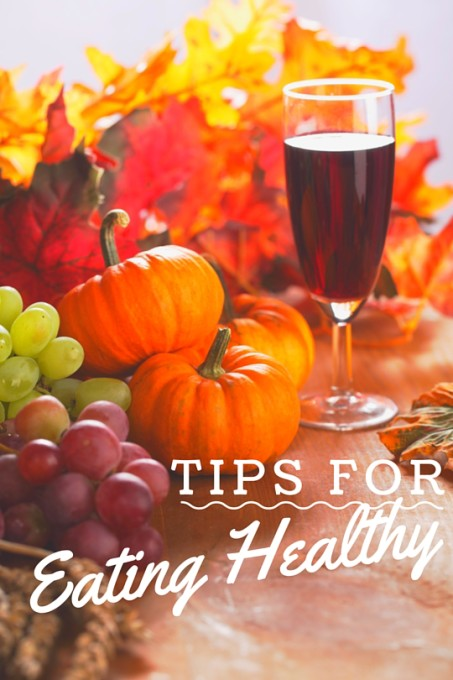 Tips for eating healthy at holidays