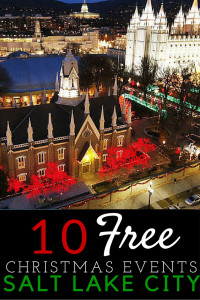 10 FREE Christmas Activities to do in Salt Lake City