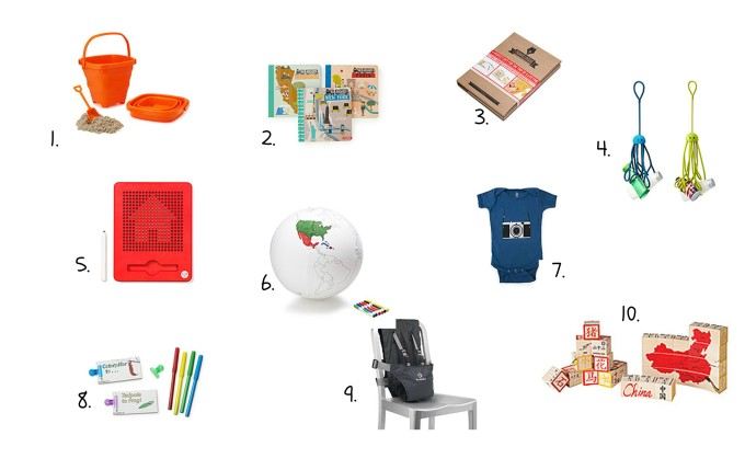 Last Minute Gifts for Traveling Kids