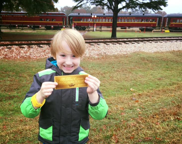 Making Family Christmas Memories Aboard the Polar Express in Palestine ...
