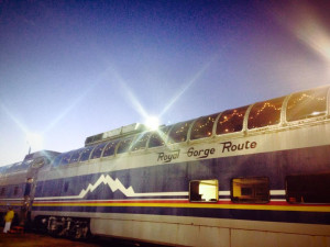 "Colorado Christmas Family Traditions: Riding the Royal Gorge ""Santa Express"""