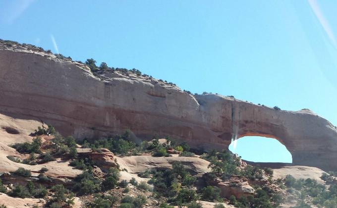 4 Corners Road Trips  Wilsons Arch