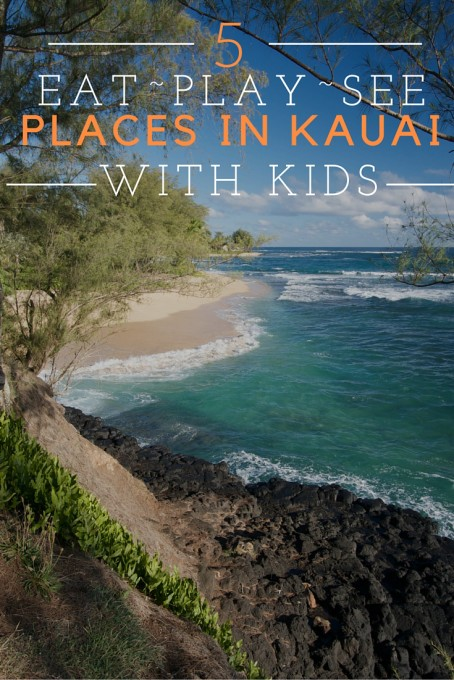 5 Places to See in Kauai with Kids