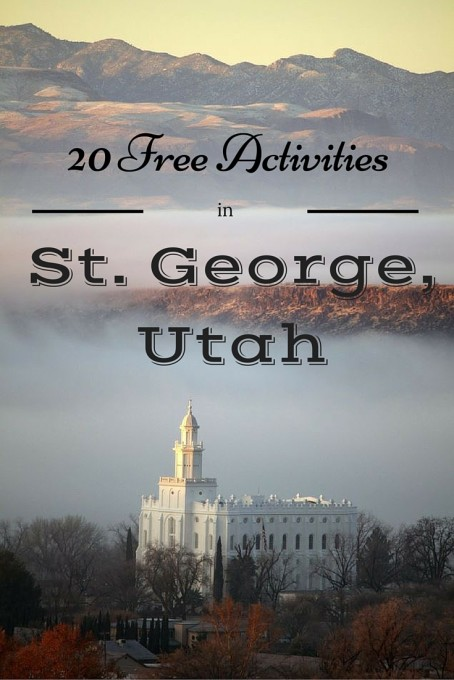 Free Things to do in St. George Utah Zion
