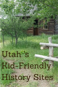 Utah Pioneer History Sites for Kids
