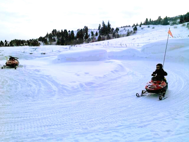 Gorgoza Park Snowmobile