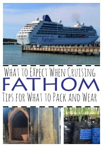 What to Pack and Wear when Cruising Fathom