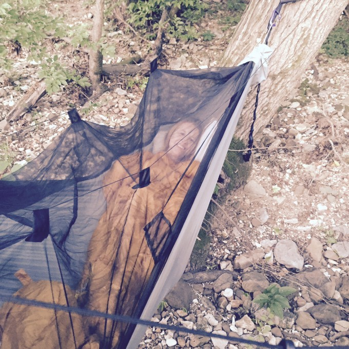 Backpack Sleeping Comfortable Hammock