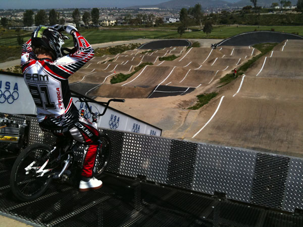Chula Vista Olympic Training BMX
