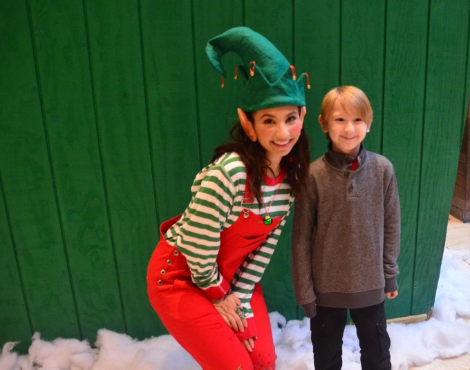 meeting an elf at the Anatole