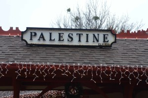 A Christmas Weekend Staycation in Palestine, TX