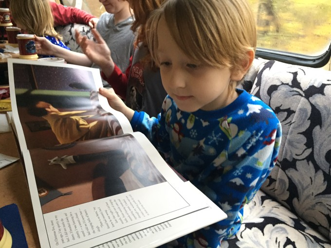 reading-the-story-on-the-polar-express