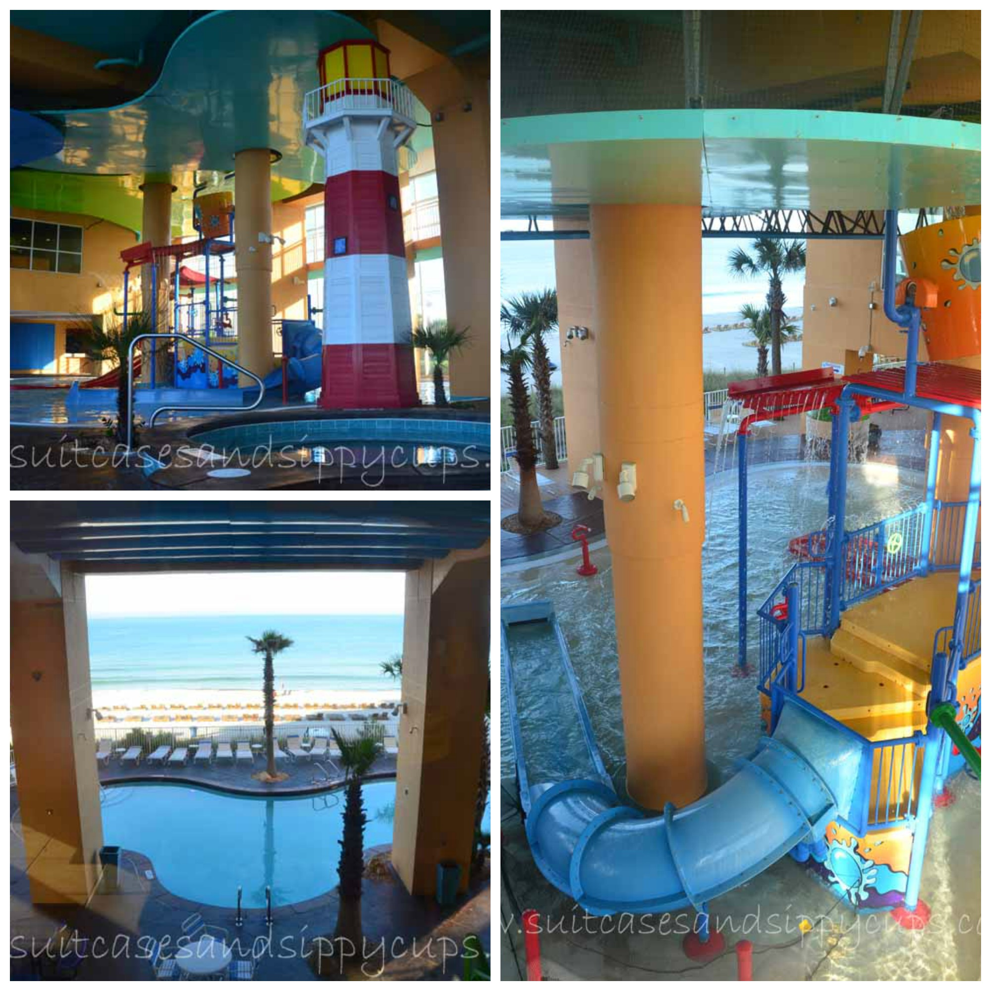 Water Features At Splash Resort